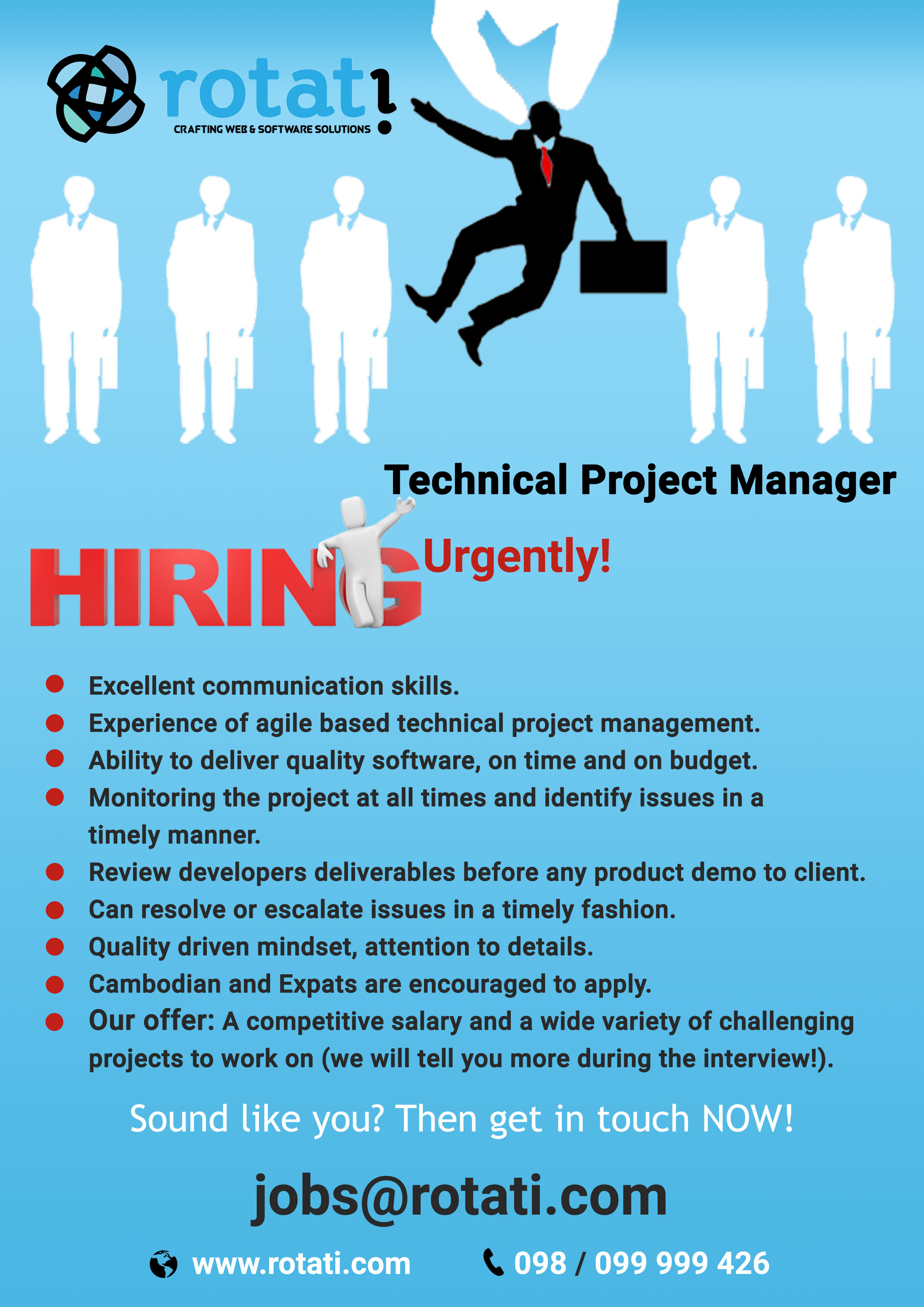technical project manager salary See the average it project manager salary in the united states and learn how much a it project manager can make in different us cities it project managers are responsible for working with technical teams to deliver projects on time, within scope and on budget.